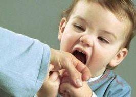 Ребенок кусается - что делать