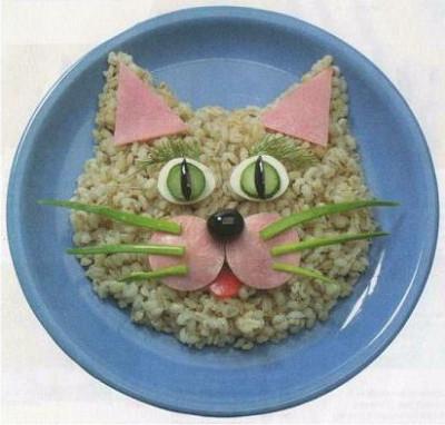 Креативное оформление блюд для детей
